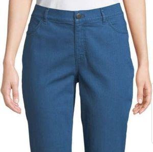 LAFAYETTE 148 straight leg blue jeans